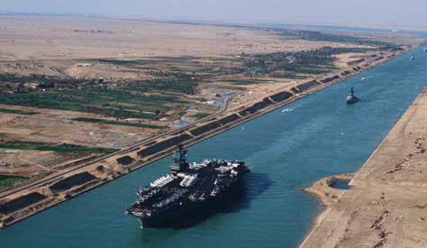 Süveyş Kanalı Nerededir? Süveyş Kanalı'nın Önemi Nedir?