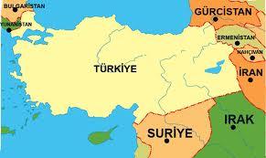 Türkiye'nin Komşuları Hangileridir? Türkiye'nin Komşu Ülkeleri