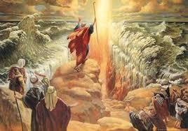 İsrailoğulları ve  Musa Peygamber, İsrailoğullarının Mısır'dan Kaçışı