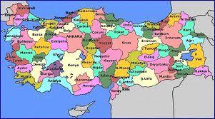 İllerin Nüfusları; Türkiye'de İllere Göre Nüfuslar