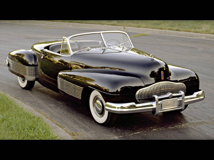 1938 Buick Y-Job. W38HV_BU002
